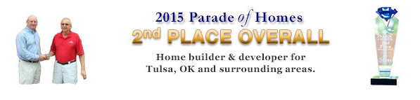 Mike Fretz 2015 Parade of Homes 2nd Place